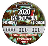 Fishing License Button