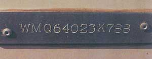 Example of a Hull Identification Number